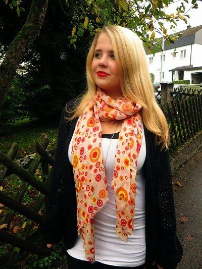 Bring Farbe in den Herbst, mit den bunten Schals von Bilasari ~ sweet&sugar