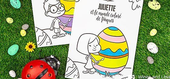 Coloriage De Paques Personnalise.Petits Suisses A La Multi Delices En 2019 Multidelice Comics