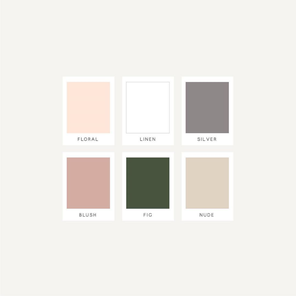 Final Color Palette For The Home Organization Company I Ve Been Working On Forget Me Not This Fun Feminine Color Palette Home Organization Color Schemes
