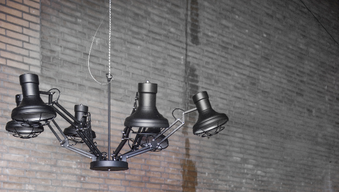 Stoere Energiezuinige Lampen : Trendhopper ○ de zes lampen zijn apart te verstellen dat maakt