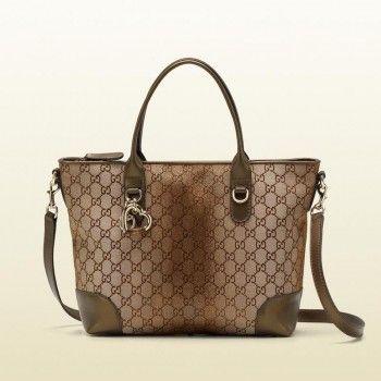 6e64d455e8334 Gucci 269957 F851g 9720 Herz-Bit-Charme Top Griff Tasche Gucci Damen  Handtaschen