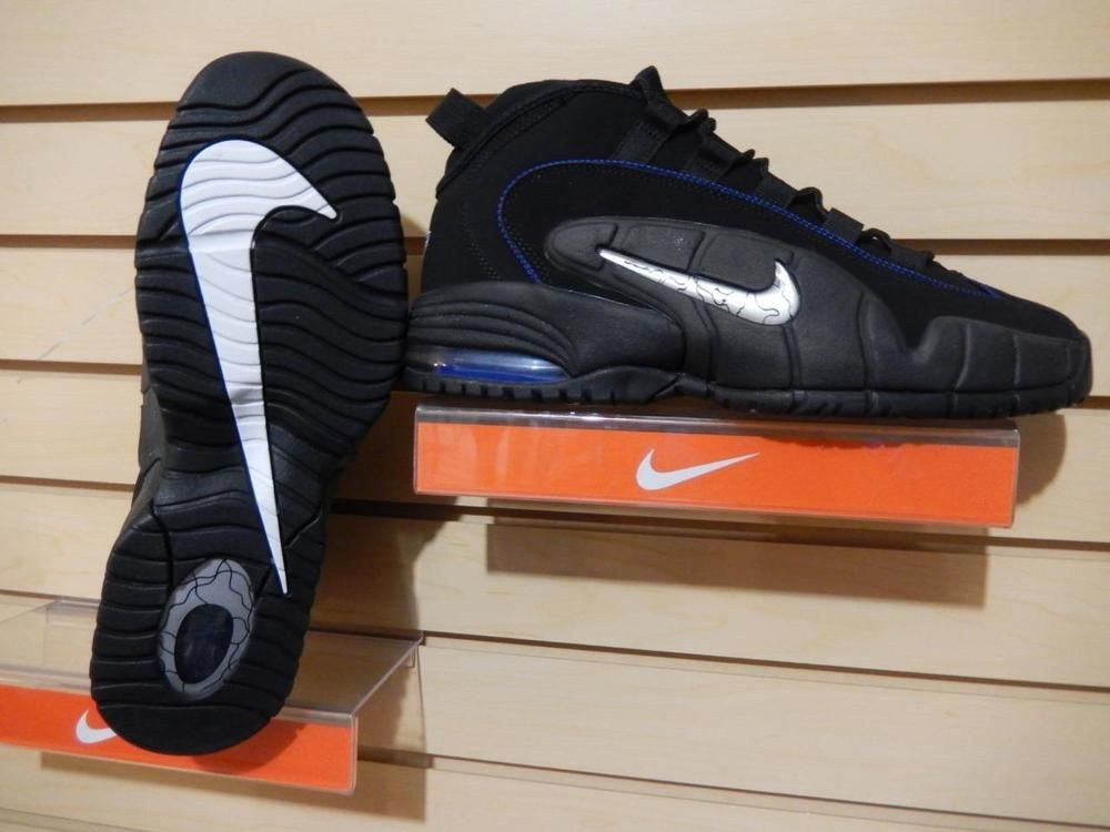 659859e650d5f Men s Nike Air Max Penny 1 Black Royal Blue 685153-001  BRAND NEW  Size  10.5  Nike  AthleticSneakers