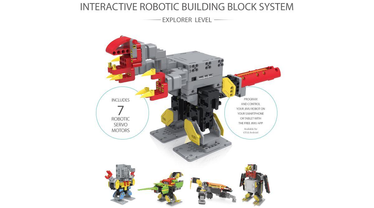 JIMU Robot Explorer Kit - Programmerbar Robot
