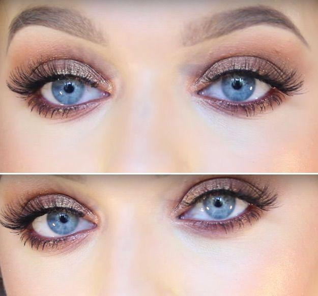 33 Best Makeup Tutorials For Blue Eyes Blue Eye Makeup Fair