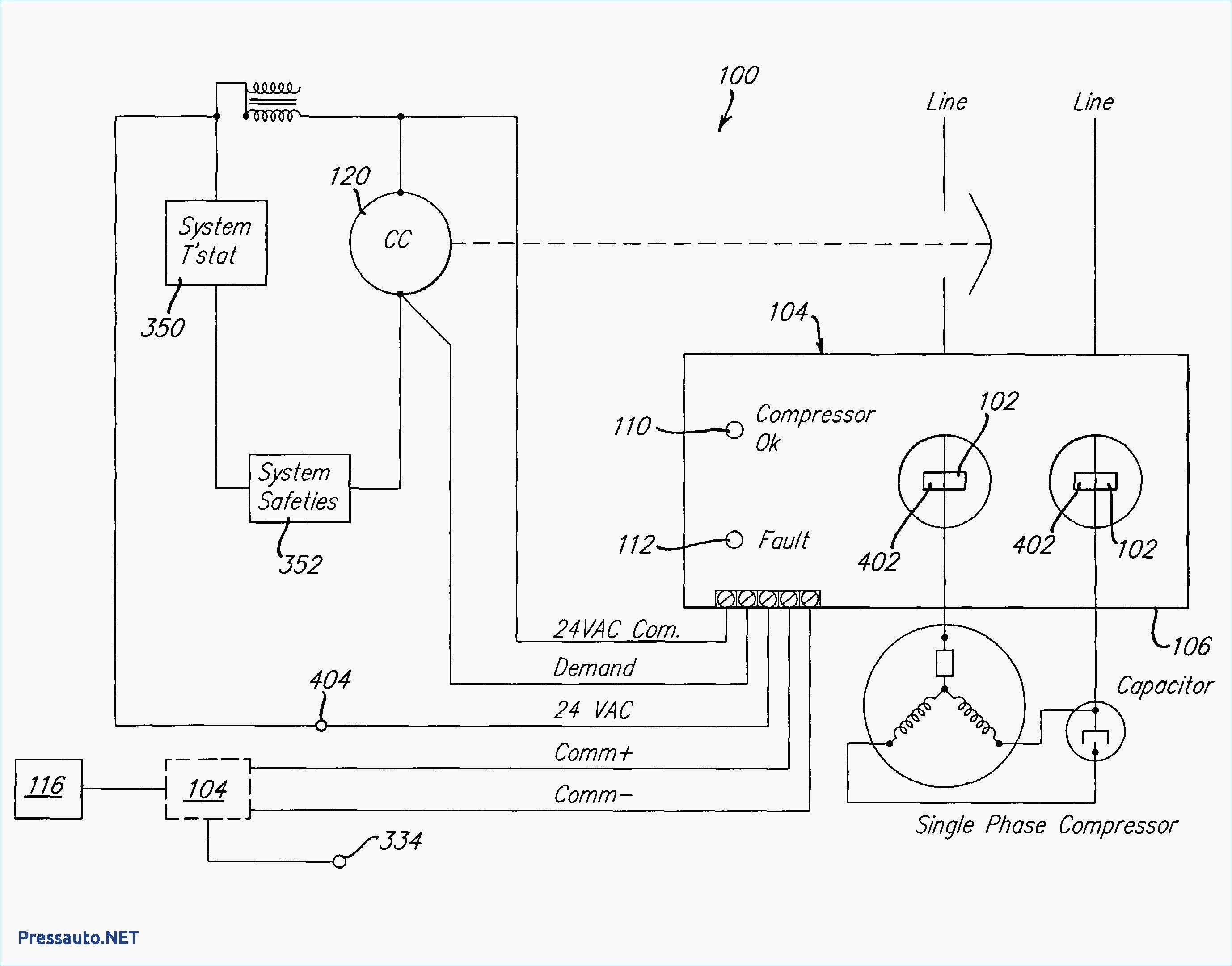 Condensing Fan Motor Wiring Diagram Awesome In 2020 Air Compressor Pressure Switch Ac Compressor Compressor