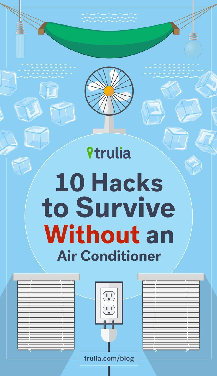 10 Hacks to Survive Without an Air Conditioner Diy air