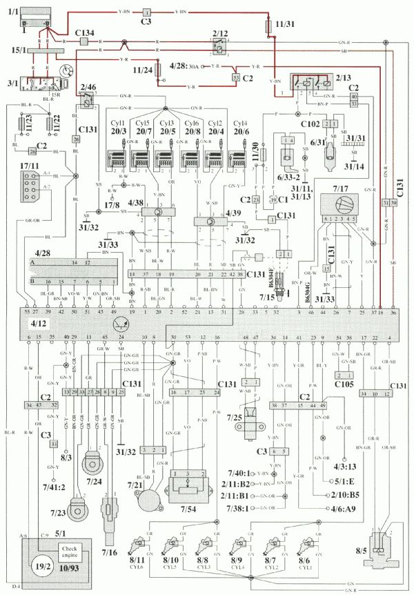 Volvo 850 Wiring Diagram Free Picture Schematic