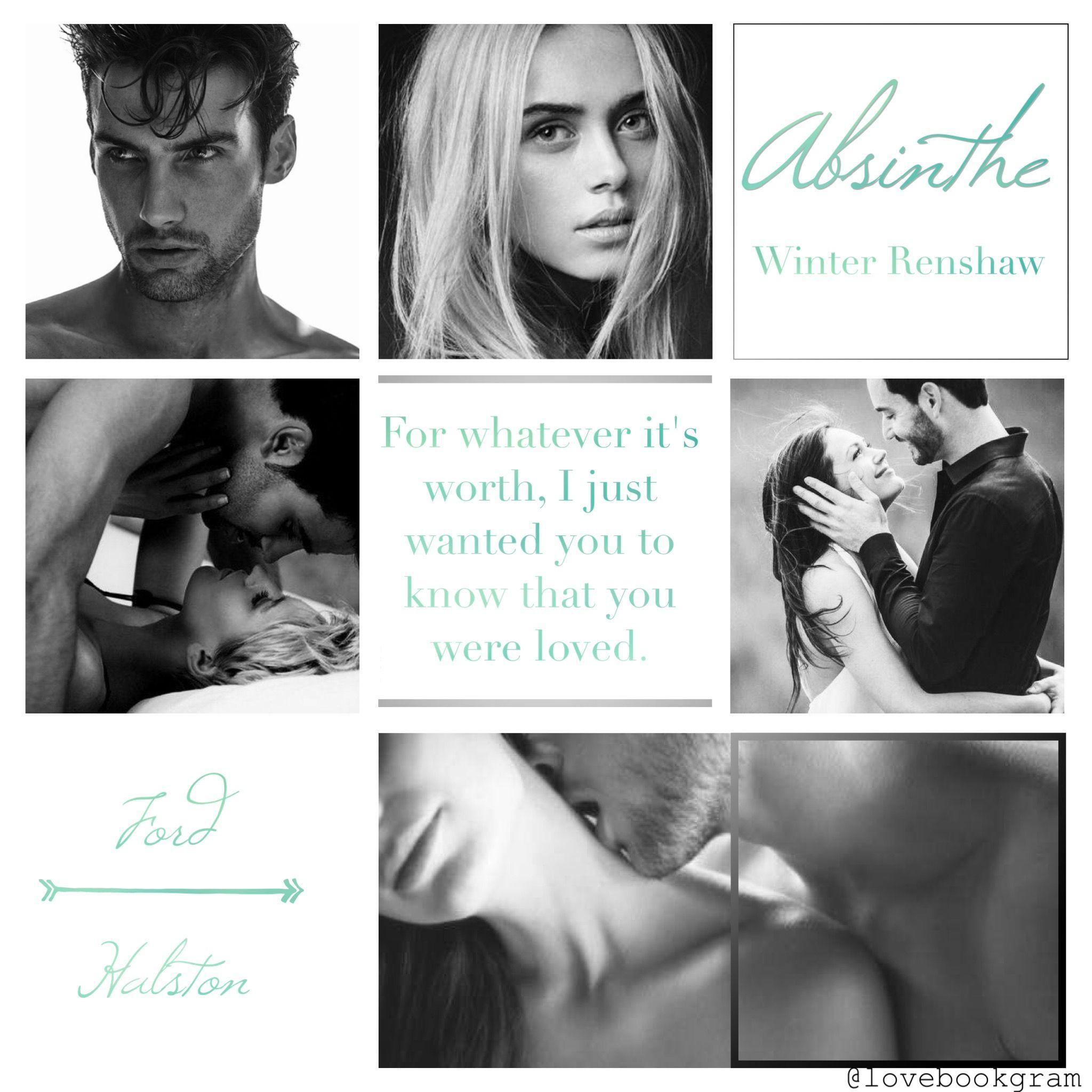 Absinthe by Winter Renshaw | m y - b o o k s | Movie posters