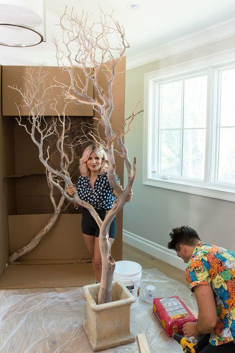 Top 30 Cute Diy Ideas That Will Make Your Home Adorable Tree Branch Decor Manzanita Tree Branch Decor