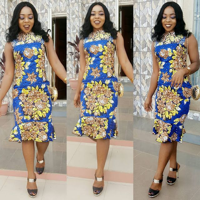 Modern and Stylish Ankara Short Gown Styles for African Ladies ...