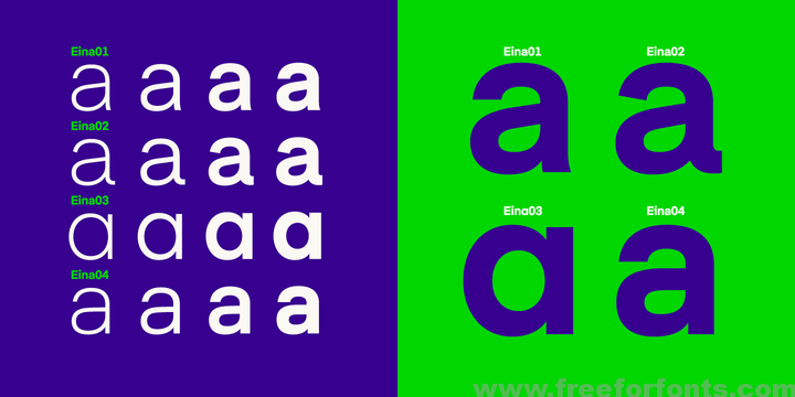 Eina Font Family Free Download | Free For Fonts | Font