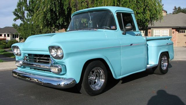1959 Chevrolet Apache Task Force Truck Chevrolet Apache Custom Cars Classic Cars