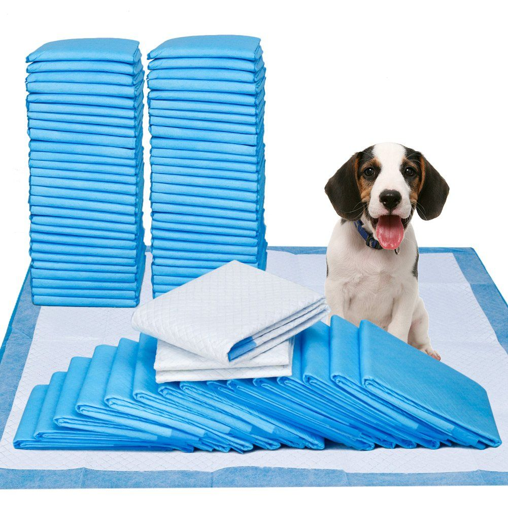 Pee pads 100 count 23 x 24 dog pads for puppy training