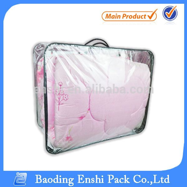 Home Storage Vacuum Plastic Comforter Bag For Clothes View Enshi Product