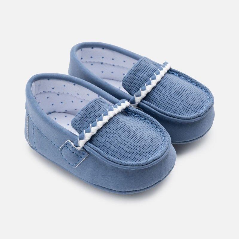 Mayoral 9275 11 Mokasyny Dla Dzieci Niebieski Baby Boy Newborn Baby Boy Timeless Shoes