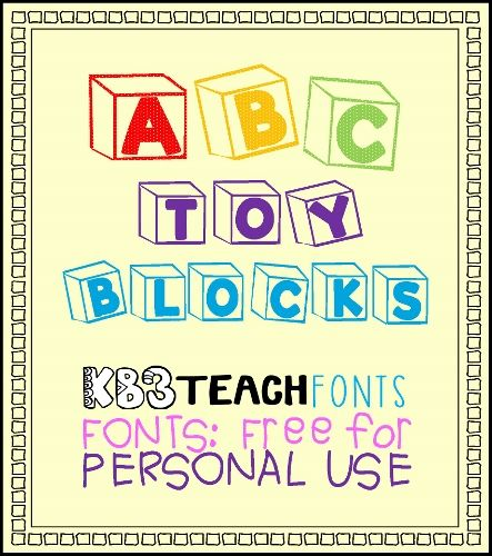 Download Fonts: Free for personal use. Use this font for worksheet ...