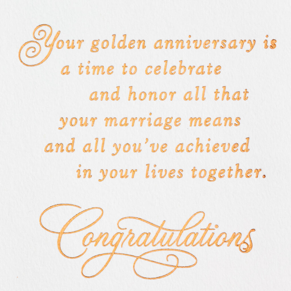 Pin By Amy Niswander On Projects 50th Anniversary Cards Anniversary Card Sayings 50th Anniversary Wishes