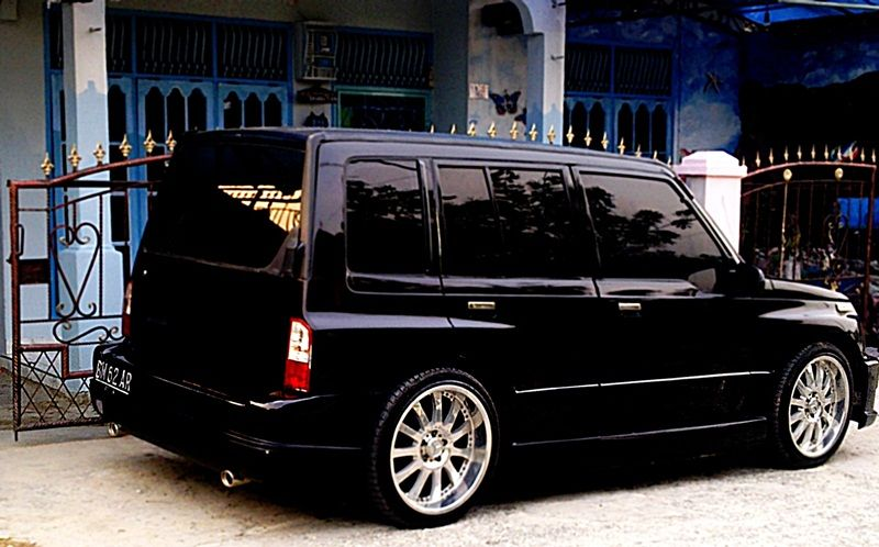 Modifikasi Suzuki Vitara Hitam | Mechanical | Pinterest