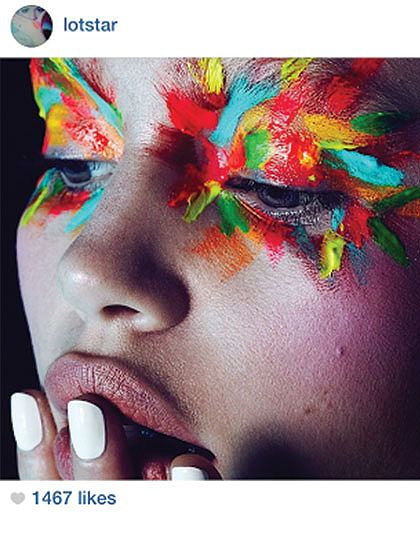The 10 beauty insider Instagram feeds you need to follow: Up-and-coming makeup artist Lonnie Stannard conceives makeup looks that are mesmerizing and truly inspired