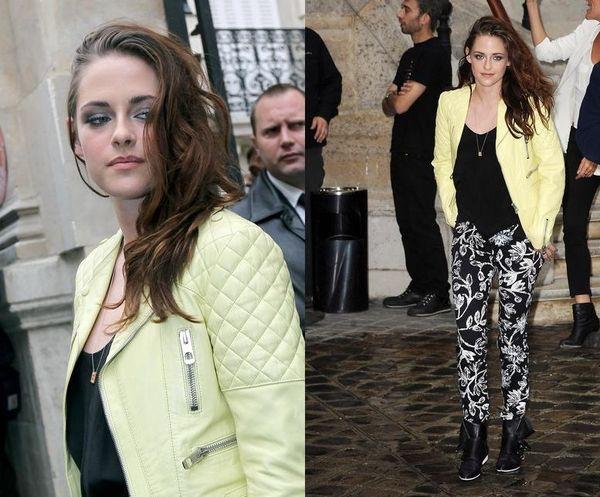 Kristen Stewart alla Paris Fashion Week, scopri il suo look total look Balenciaga!