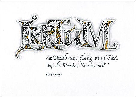 Kalligraphie Doodle Gedicht Eugen Roth Irrtum Lettering