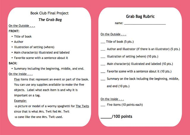 Book Report Sample Paper - Time for Kids