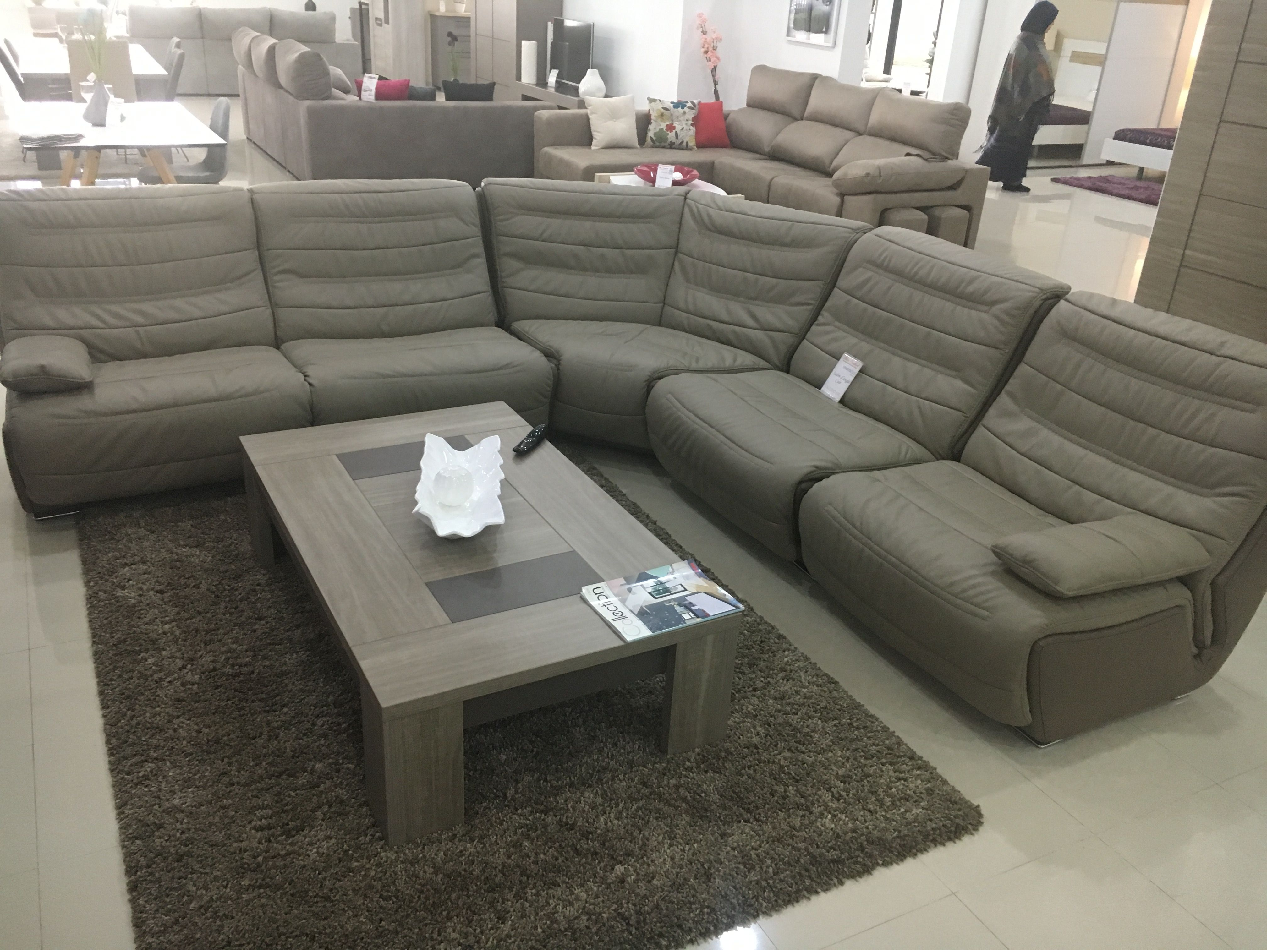 Salon En L Cuir Italien Sectional Couch Furniture Home Decor