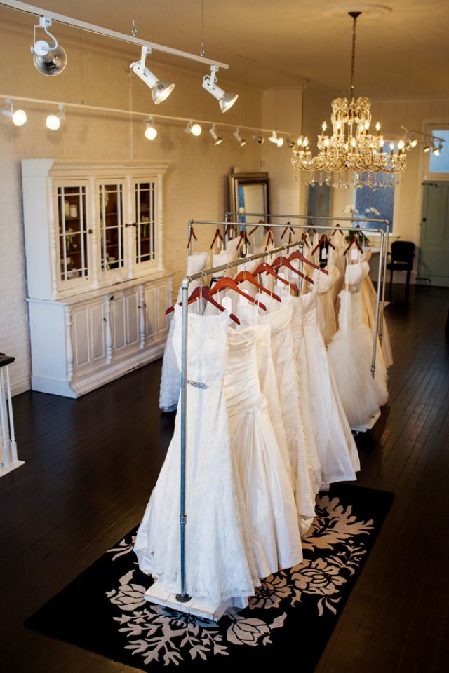 The White Peony Bridal Boutique / Jenna and Tristan Photography