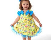 SEW GIRLY Aline Dress Pattern PDF Size 12 months - 6 child Easy