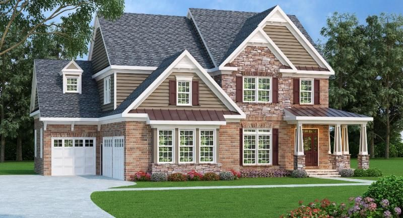 Southern Plan 3207 Square Feet 5 Bedrooms 5 Bathrooms Magnolia Farmhouse Style House Farmhouse Style House Plans Traditional House Plans
