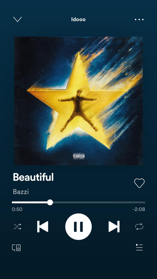 Spotify Bazzi en 2020 Nombres de canciones, Álbum de