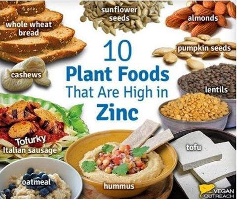 10 Plant Foods That Are High In Zinc Plantbased Diet Health