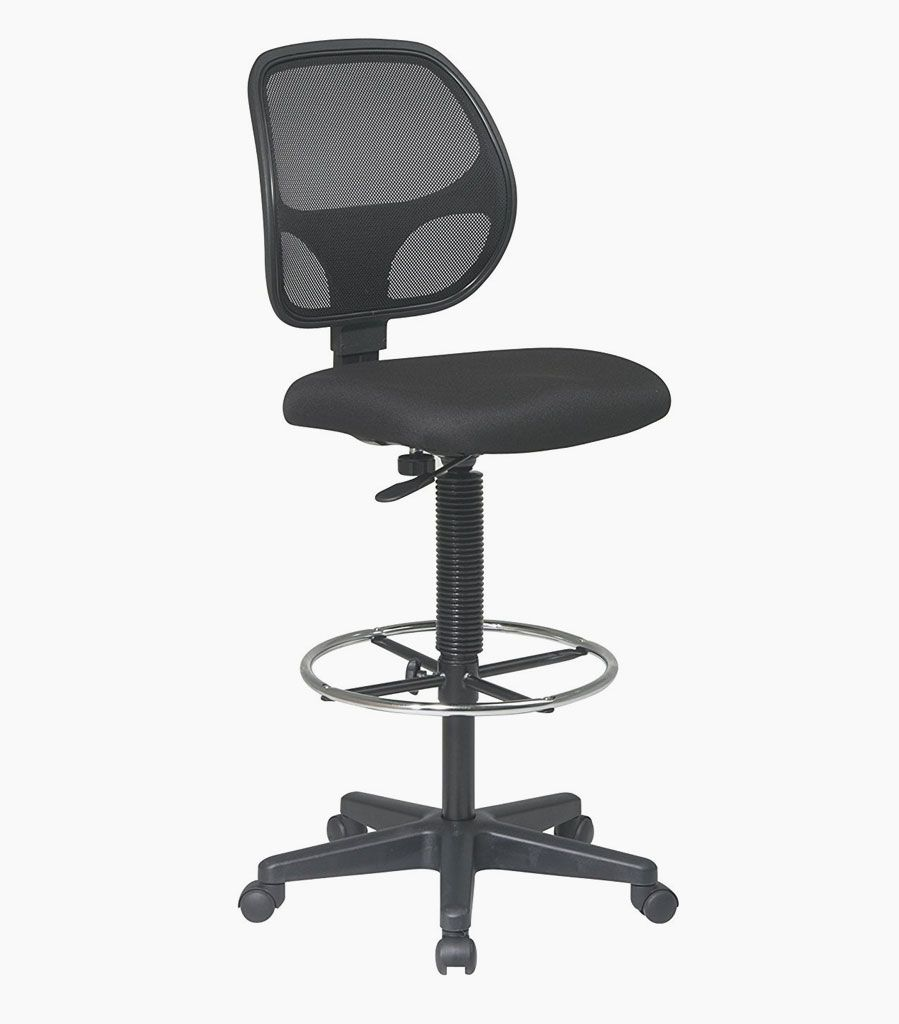 Captivating Office Star Products Work Smart Breathable Padded Fabric Drafting Chair    Overstock™ Shopping   The Best Prices On Office Star Products Commercial  Stools