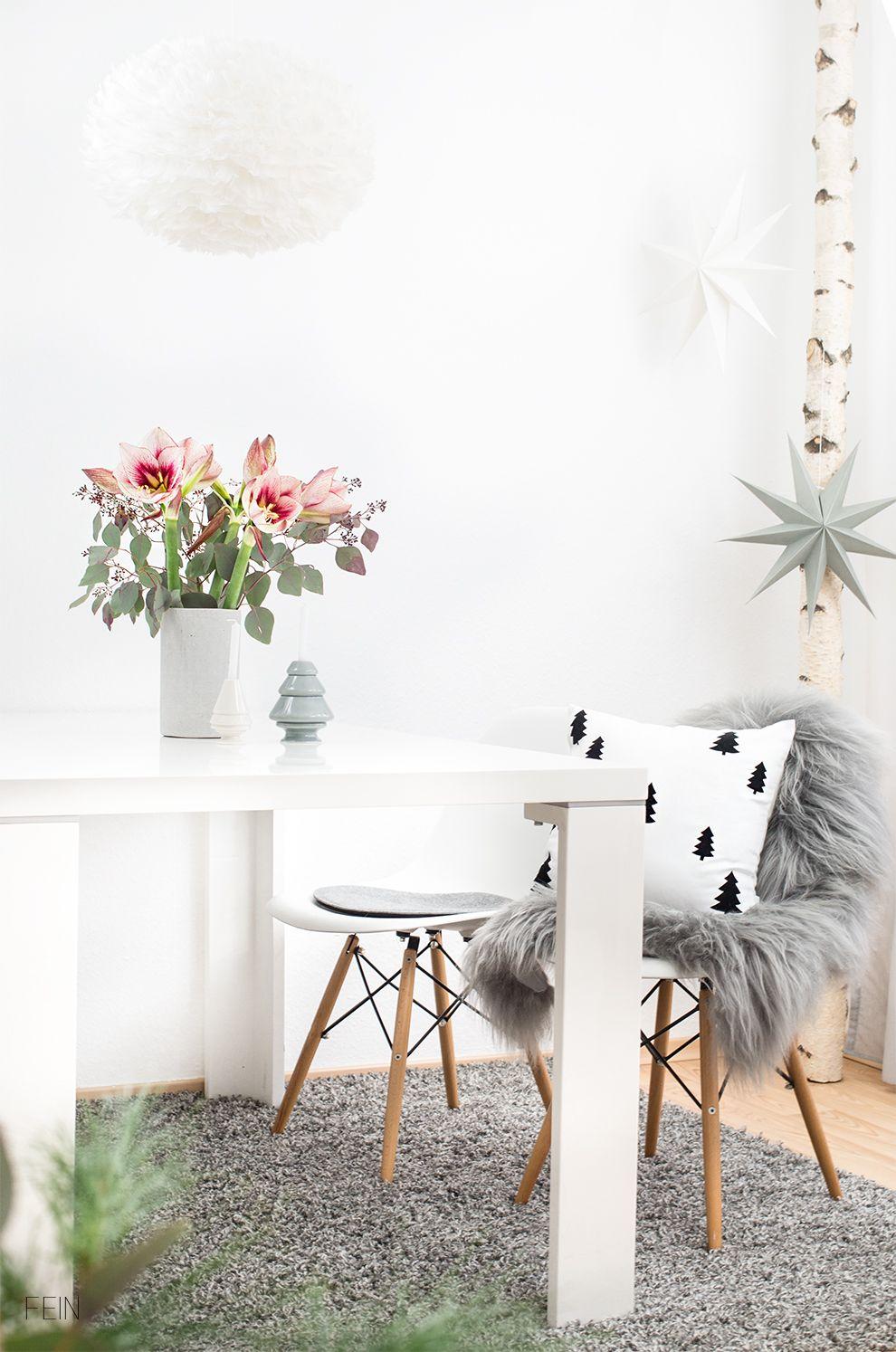 Weihnachten Wohnzimmer Deko scandi | Fein&fabelhaft LIVING ...