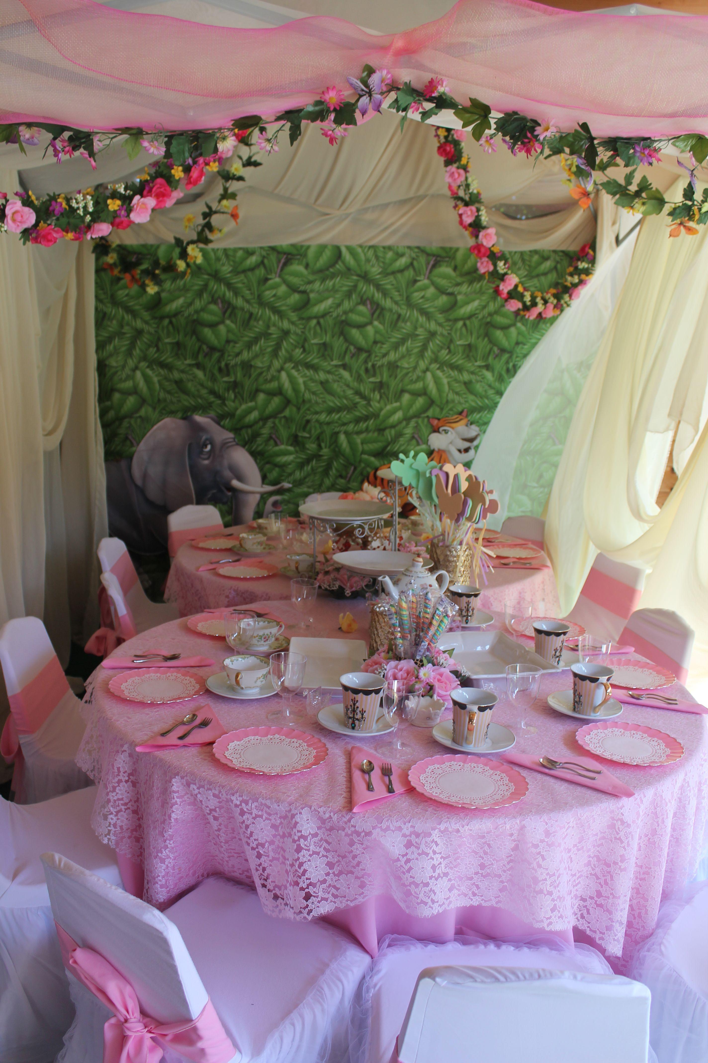 Kids tea party table - Princes tea birthday party princess tea party ideas princess tea party centerpieces princess