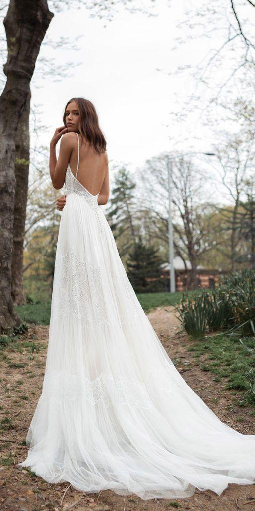 Fairytale Flora Wedding Dresses 2018 Fairytale Flora Wedding Dresses 2018        flora wedding dresses with spaghetti straps open back 2018