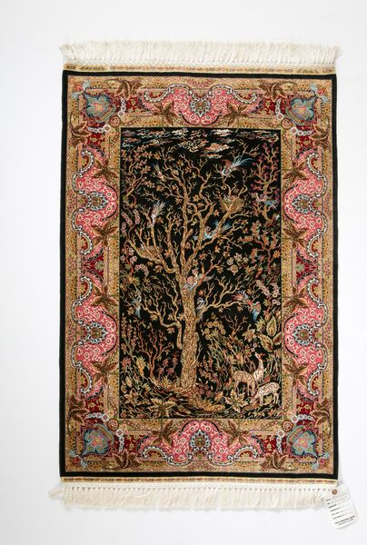 Turkish Hereke Finely Woven Silk Rug Superb Quality
