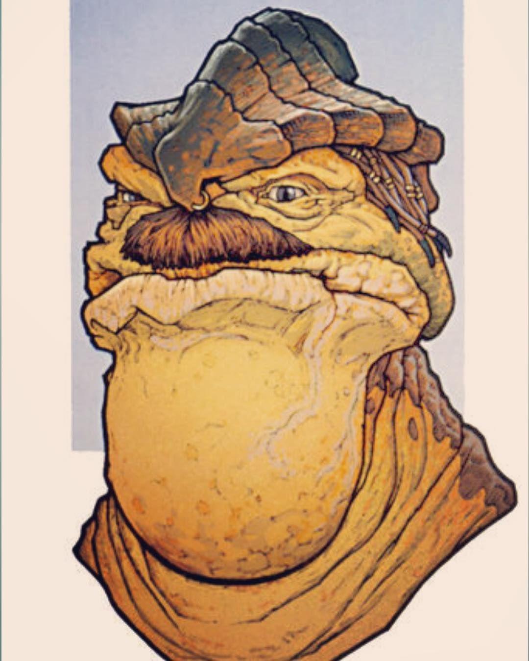 Besalisk Portrait Star Wars Comics Star Wars Rpg Colorful Backgrounds