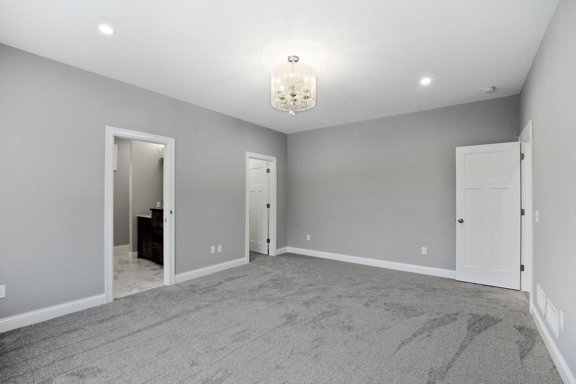 Interior Design Bedroom Grey Carpet