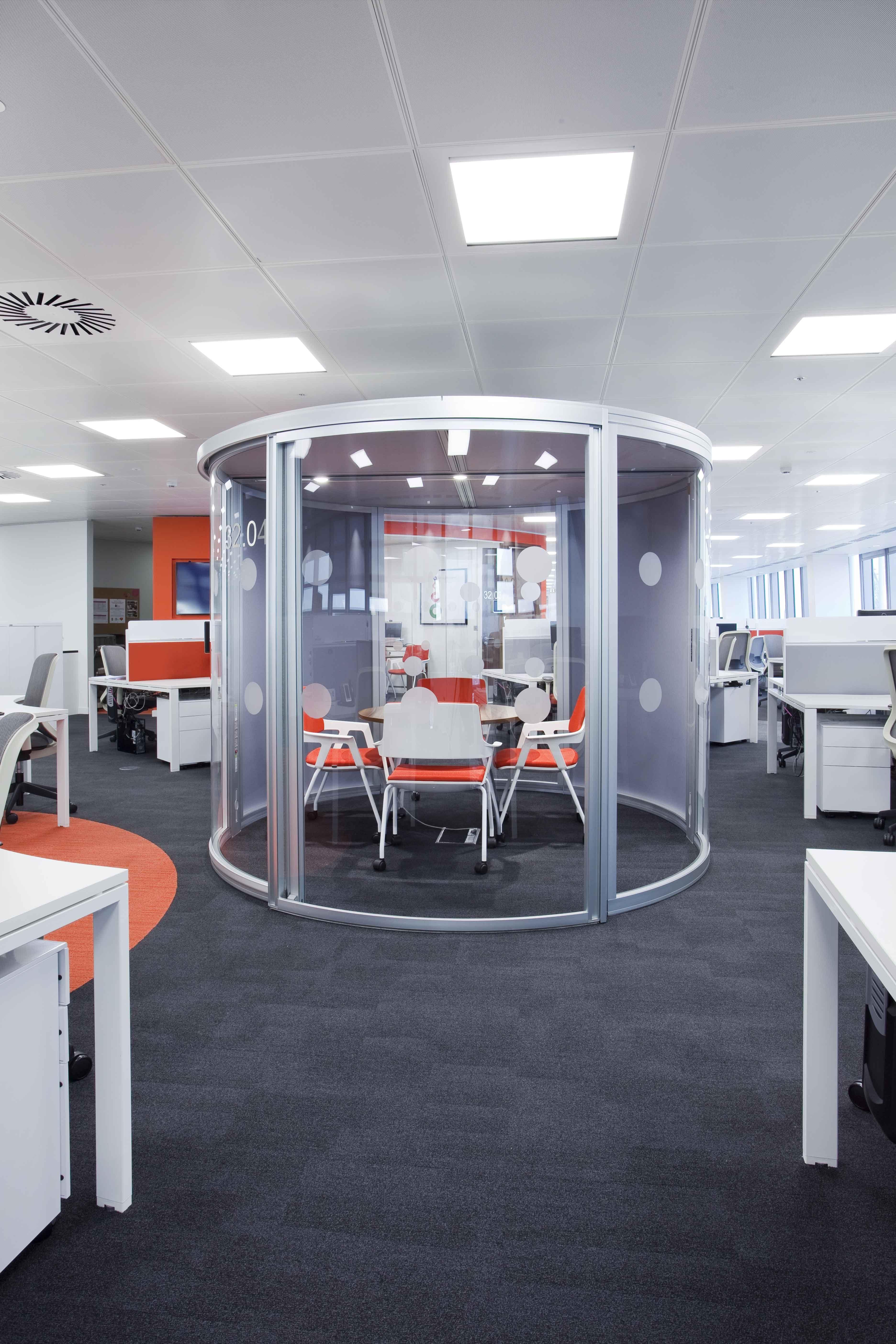 Best Kitchen Gallery: Informal Meeting Area Pod Interior Design Workspace Office of Interior Design Workspace  on rachelxblog.com