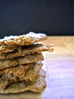 Kitchen Cactus: Oat-Anything Crackers
