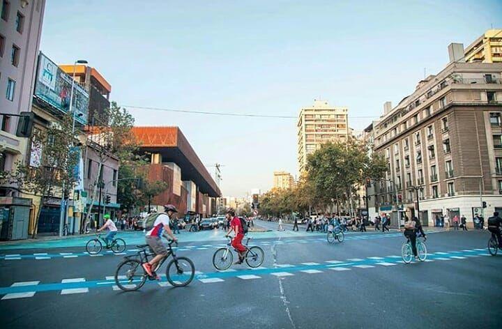 Santiago en bicicleta on instagram 3 ejes fundamentales
