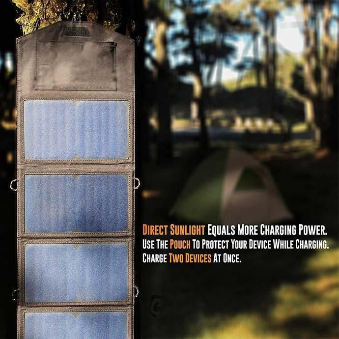 SolarPan 8W Portable Solar Panel Charger #inspireuplift explore Pinterest