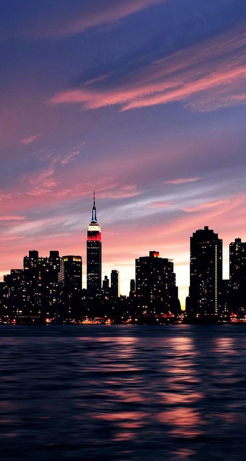 Imagem De City Light And New York