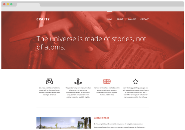 Full Width Website Design Free Psd Template Sample Website