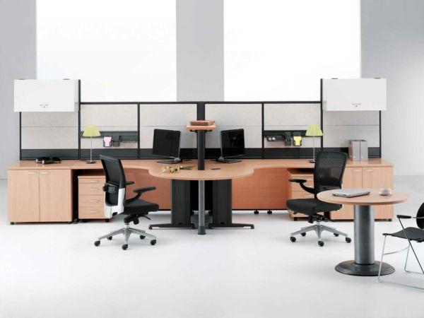 Ergonomie am Arbeitsplatz moderne büromöbel homeoffice