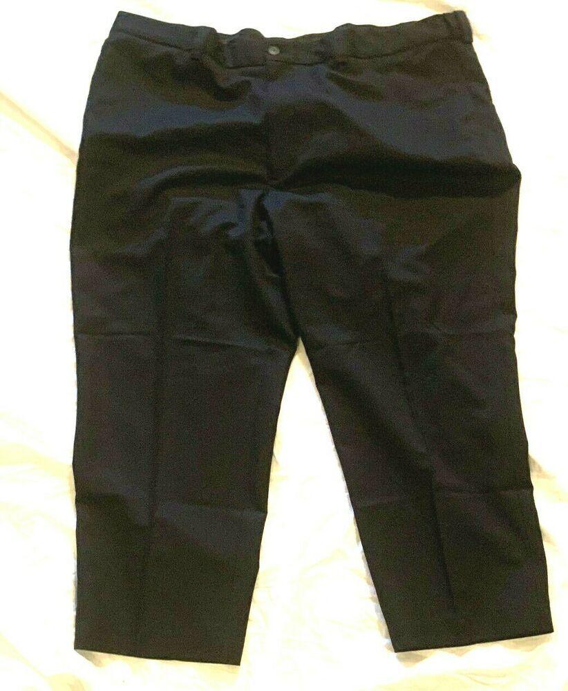 Oak Hill Men Black Flat Front Dress Pants Size 48 Length 28 Oakhill Dresspants Ebay Clothes Plus Size Plus Size Women [ 1000 x 822 Pixel ]