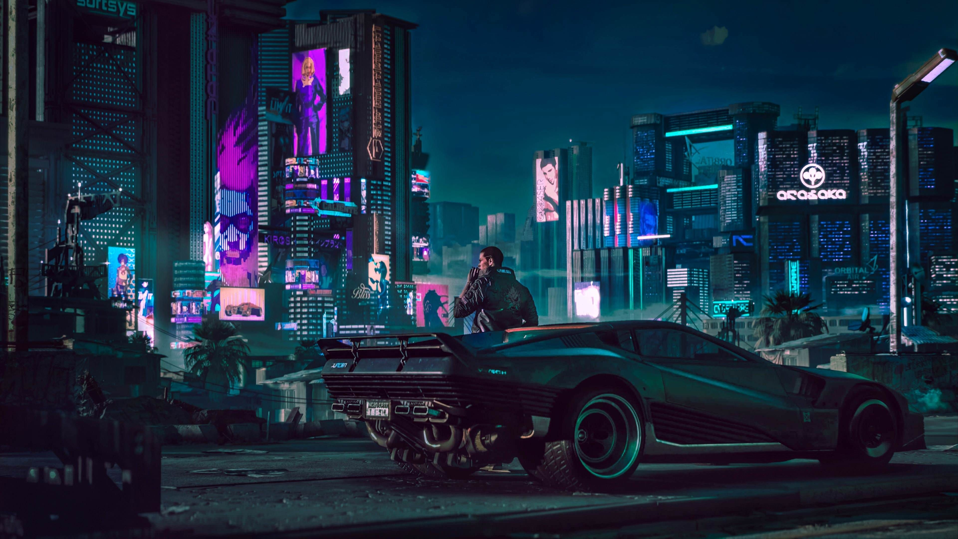 2018 Cyberpunk 2077 4k Https Www Pxwall Com 2018 Cyberpunk 2077 4k Futuristic City Cyberpunk 2077 Cyberpunk 2077 Trailer