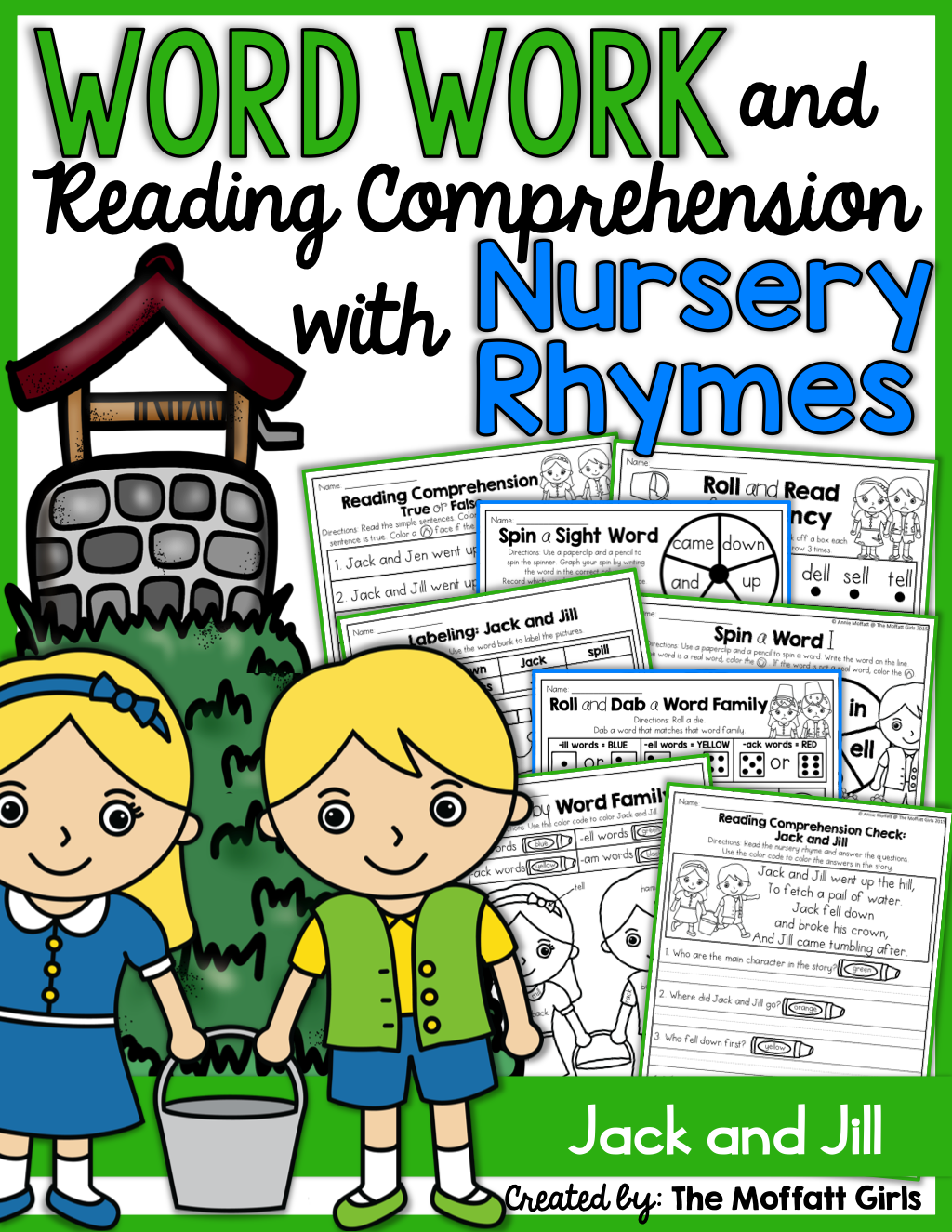 Teaching Word Work And Reading Comprehension Through