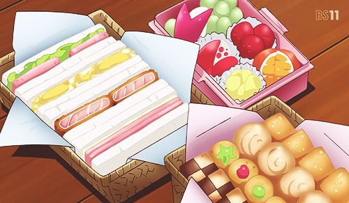 Pin By Chu Hạ On ー Anime Food ー Anime Bento Food Cartoon Kawaii Food